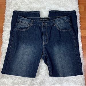 BEVERLY HILL POLO CLUB MENS DARK JEANS SIZE 38